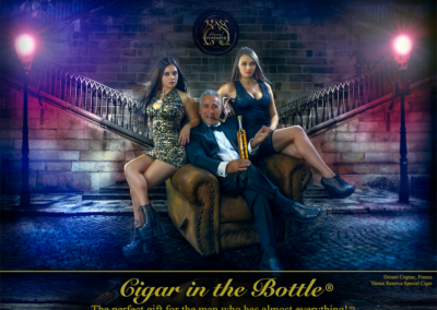 Cigar in the Bottle on Location
